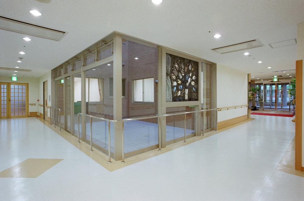 廊下・中庭